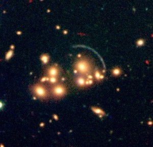 Gallactic Cluster Lens